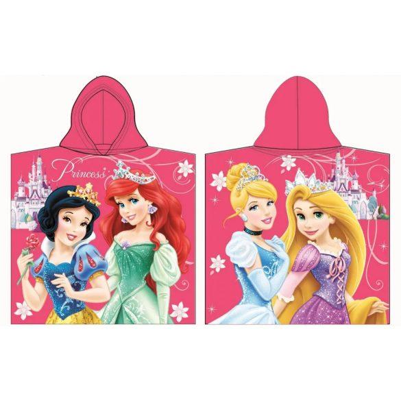 Hercegnők Princess pink poncsó