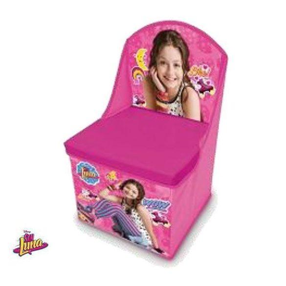 Soy Luna játéktároló szék