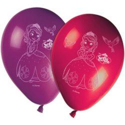 Disney Szófia hercegnő léggömb / lufi (8 db-os)