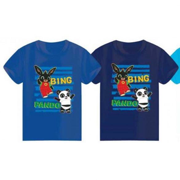 Bing nyuszi póló -kék, fiús