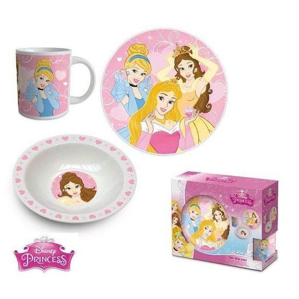 Hercegnők porcelán étkészlet díszdobozban