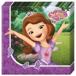 Disney Szófia hercegnő szalvéta (20 db-os)