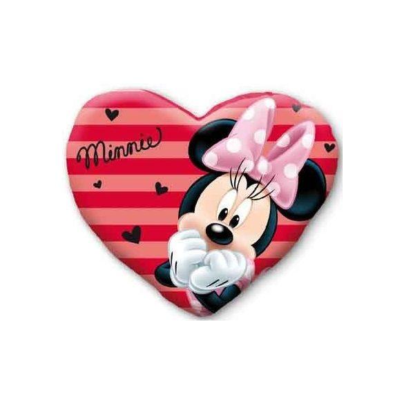 Minnie egér szív alakú díszpárna