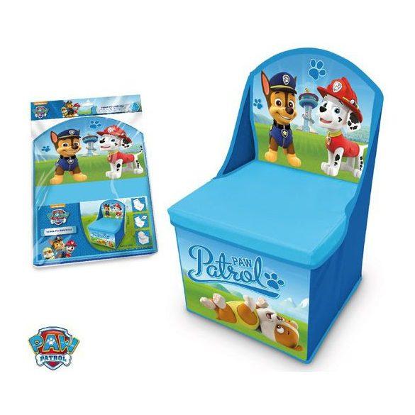 Mancs őrjárat játéktároló szék