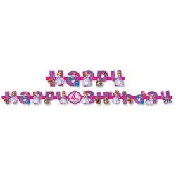 Disney Szófia hercegnő Happy birthday felirat