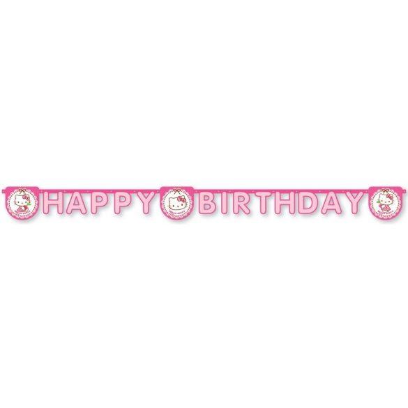 Hello Kitty Happy birthday felirat