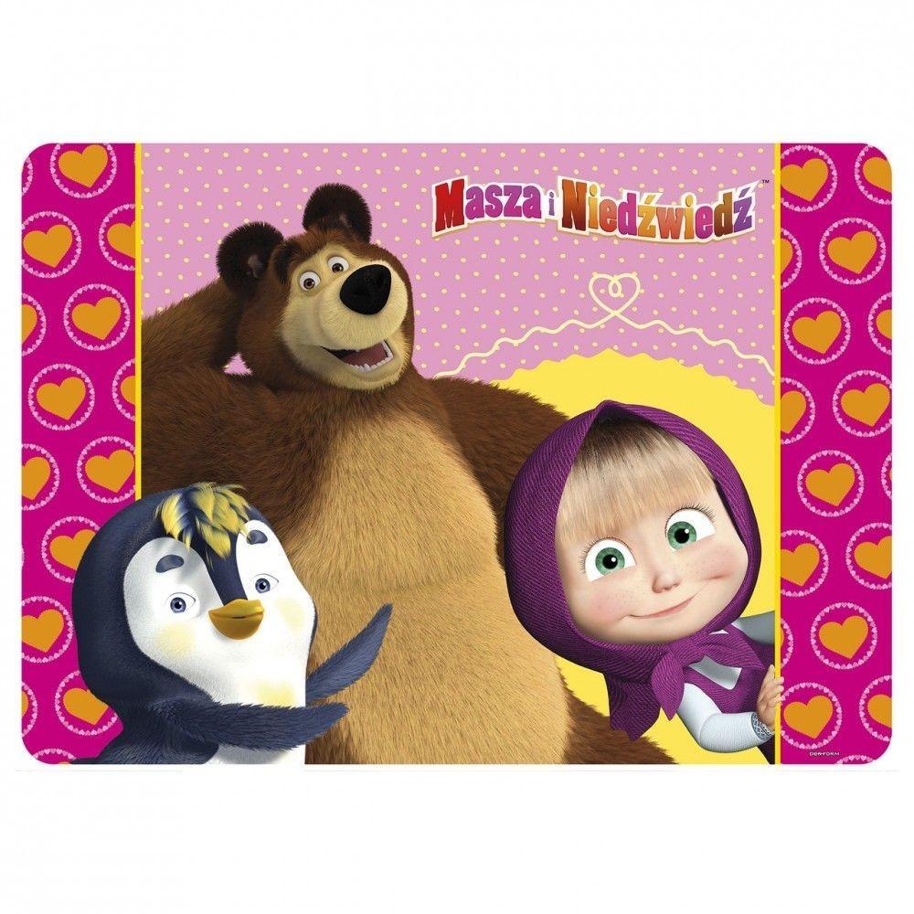 Mása és a medve tányéralátét - pingvines - Mese Guru - a Disney és ... 65c9619232