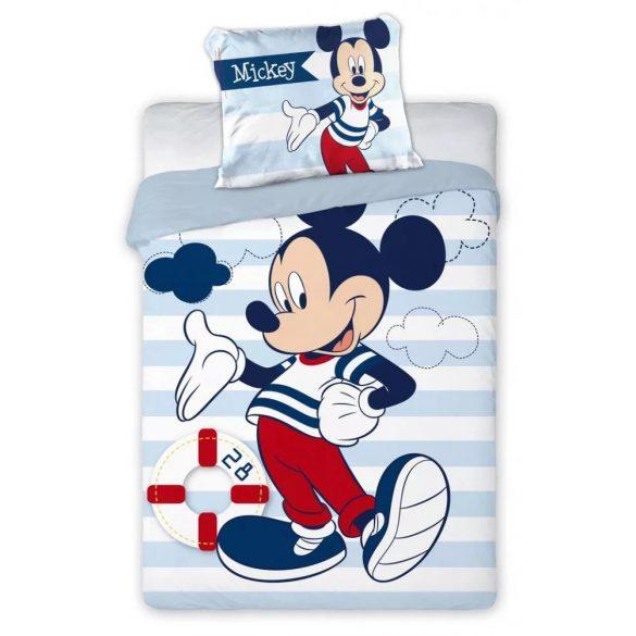 Mickey egér ovis ágynemű csíkos