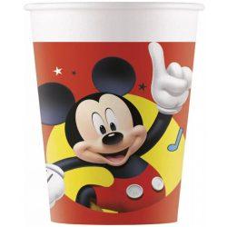 Disney Mickey papír parti pohár (8 db-os)