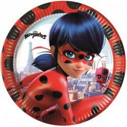 Miraculos Ladybug papírtányér (8 db-os)