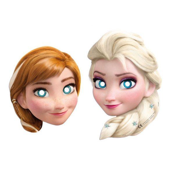 Disney Jégvarázs álarc (6 db-os)