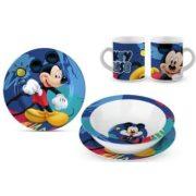 Mickey egér porcelán étkészlet
