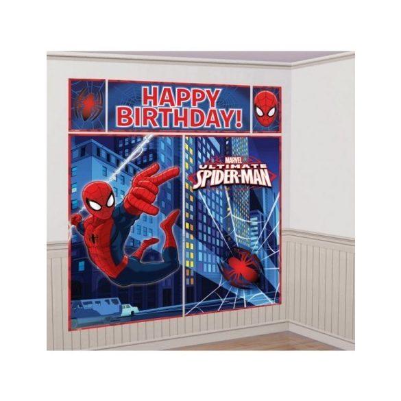 Pókember fali dekoráció
