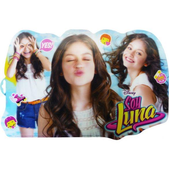 Soy Luna 3 dimenziós tányéralátét