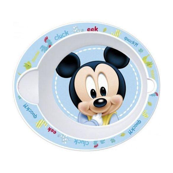 Mickey egér baba micro mélytányér
