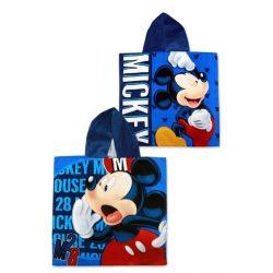 Mickey egér pamut poncsó