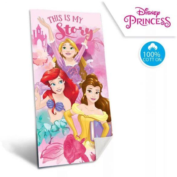Disney Hercegnők pamut fürdőlepedő - strand törölköző