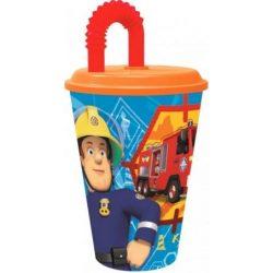 Sam a tűzoltó szívószálas pohár