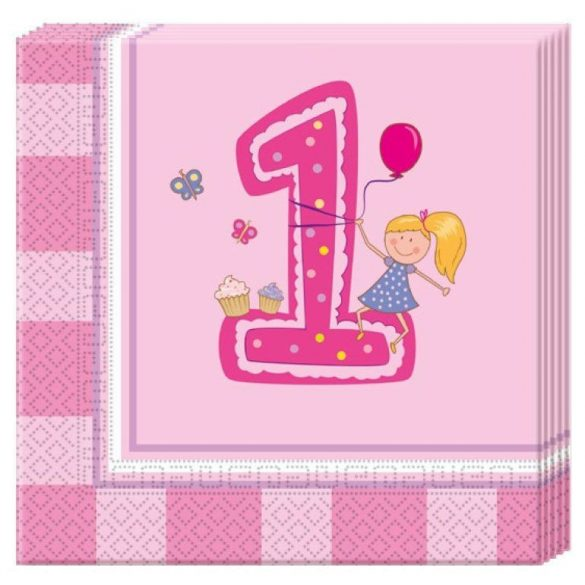 Első születésnapi szalvéta (20 db-os)