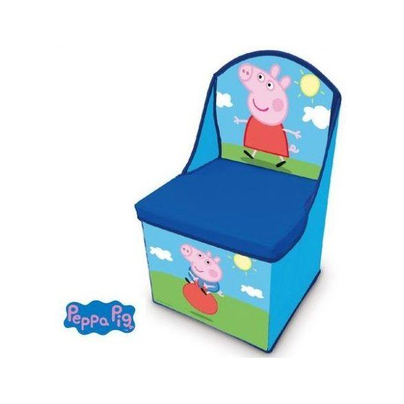 Peppa malac játéktároló szék