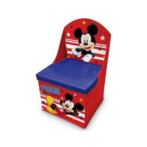 Mickey egér játéktároló szék