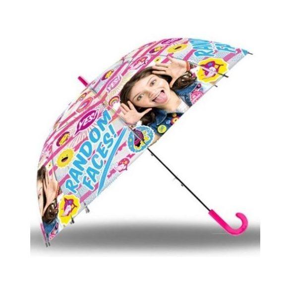 Soy Luna átlátszó esernyő