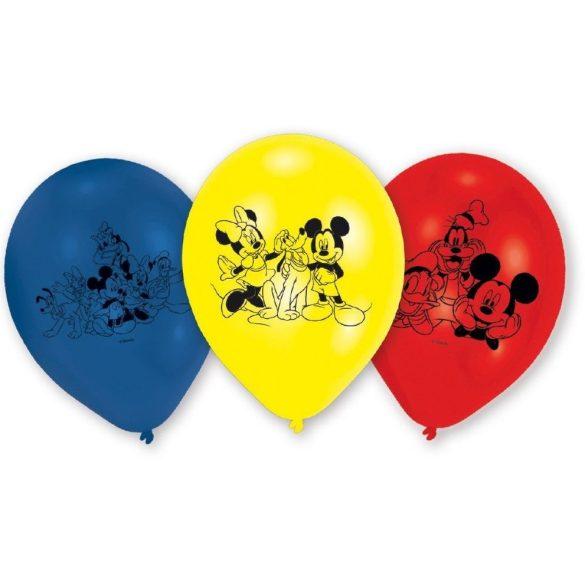 Mickey léggömb / lufi (6db-os)