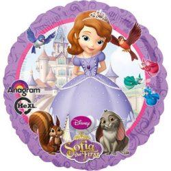 Disney Szófia hercegnő fólia lufi