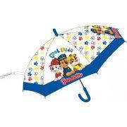 Mancs őrjárat fiú átlátszó esernyő