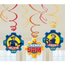 Sam a tűzoltó szalag dekoráció