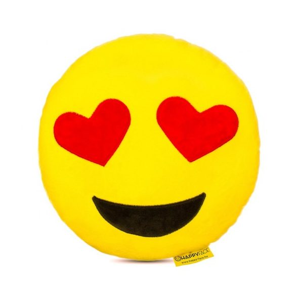 Happy Face: Love Emoji párna