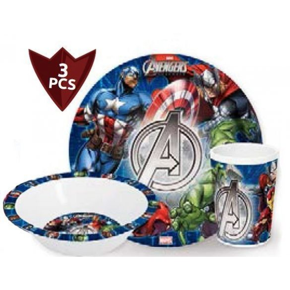 Bosszúállók - Marvel melamin étkészlet