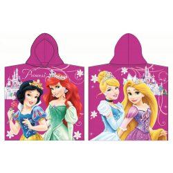 Hercegnők  Princess lilás poncsó