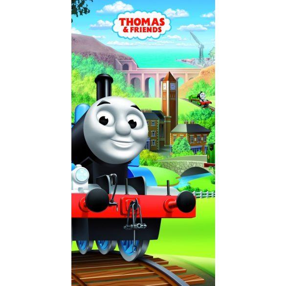 Thomas és barátai pamut fürdőlepedő - strand törölköző