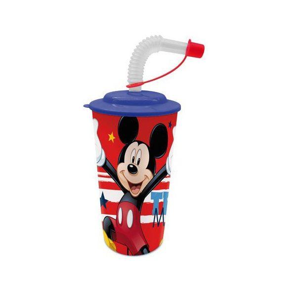 Disney Mickey egér szívószálas pohár