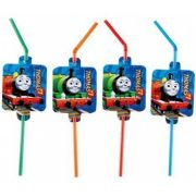 Thomas és barátai szívószál (8 db-os)