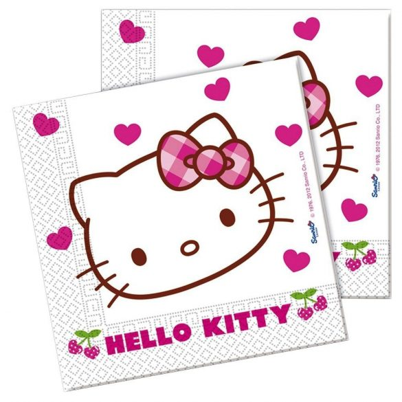 Hello Kitty szalvéta (20 db-os)