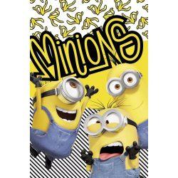 Minions - Minyonok plüss takaró