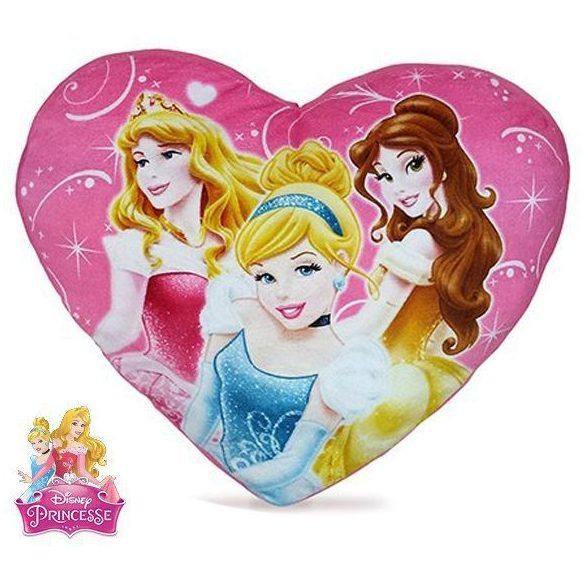 Hercegnők szív alakú díszpárna