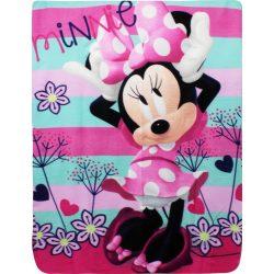 Minnie egér Flowers polár takaró