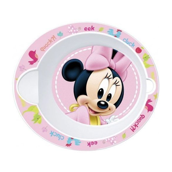 Minnie egér baba micro mélytányér