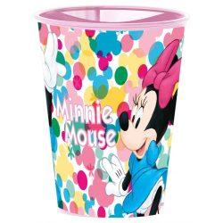 Minnie egér csíkos pohár