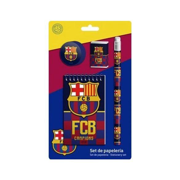 FCB Barcelona 4 db-os írószer szett