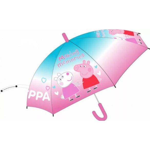 Peppa malac gyerek átlátszó esernyő