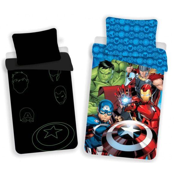 Marvel Avengers / Bosszúállók Sötétben világító ágynemű