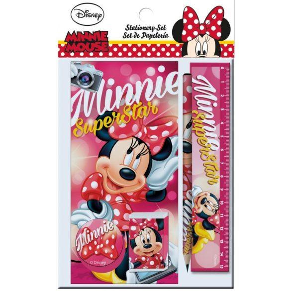 Minnie egér 6 db-os írószer szett