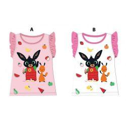 Bing nyuszi ujjatlan póló lányoknak  - 116 cm - UTOLSÓ DARAB
