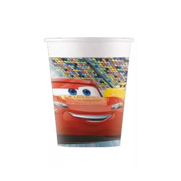 Verdák parti papír pohár (8 db-os)