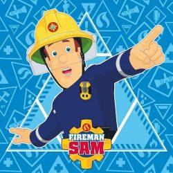 Sam, a tűzoltó mágikus kéztörlő, arctörlő