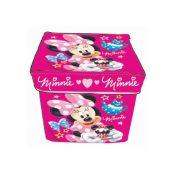 Minnie egér játéktároló puff